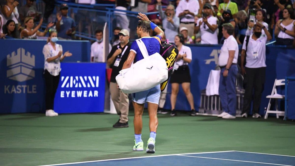 Rafael Nadal pulls out of Cincinnati