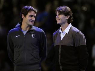 Retrouvailels avec Federer au Masters. En finale, pour changer. En indoor, le Suisse possède toujorus un avantage sur son rival. Il s'impose en trois sets. C'est la première (et unique à ce jour) présence de Nadal en finale du Masters.