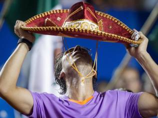 Février 2013. Le grand retour. Finaliste à Vina del Mar, l'Espagnol renoue avec la victoire en s'imposant à Sao Paulo et ici, à Acapulco.