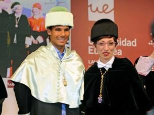 Rafa Nadal Investiture As Doctor Honoris Causa