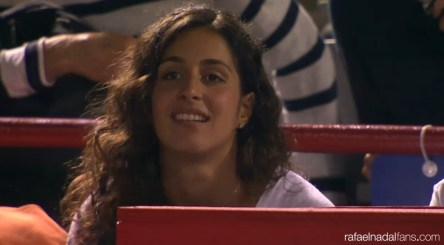 Rafael Nadal girlfriend Maria Francisca Perello Montreal Rogers Cup Canada