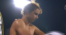 Shirtless Rafael Nadal Rogers Cup Montreal QF