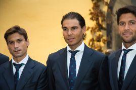 Rafael Nadal Poses Before Davis Cup Dinner (15)