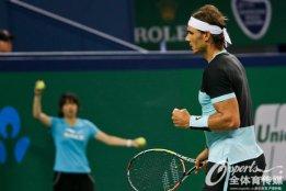 Rafael Nadal into Shanghai Masters quarter finals after beating Milos Raonic (6)