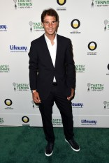 Rafael Nadal attends Taste Of Tennis New York on August 25, 2016 in New York City. (Aug. 24, 2016 - Source: Nicholas Hunt/Getty Images North America)