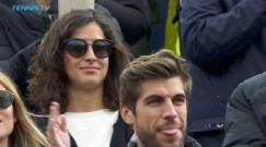 Rafael Nadal girlfriend Maria Francisca Perello Barcelona Open final 2017
