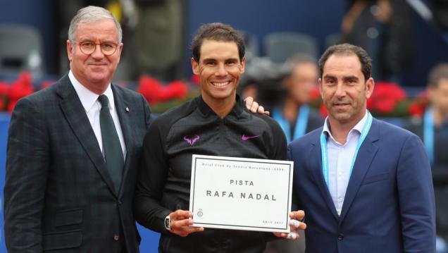 Tenis Barcelona Open Banc Sabadell-Trofeo Conde de Godó. Debut de Rafa Nadal (Pep Morata - Pep Morata)