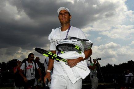 Tennis - Wimbledon - London, Britain - July 9, 2017 Spain's Rafael Nadal walks to court ahead of a practice session REUTERS/Tony O'Brien
