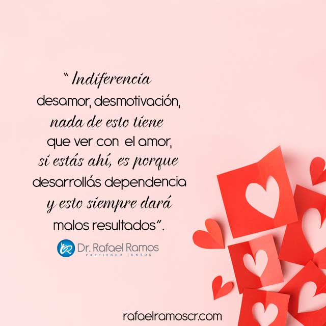 ¿Te gusta ser amado desde la indiferencia?