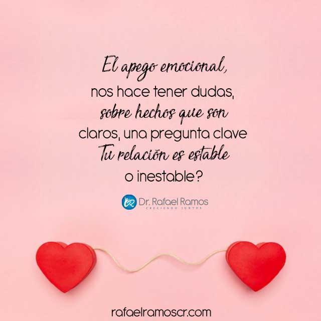 El amor requiere ser realistas.