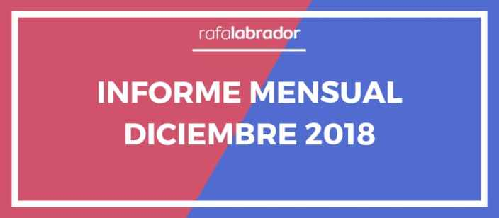 Informe Mensual Diciembre 2018