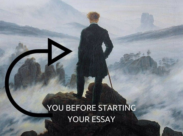 beginning an essay
