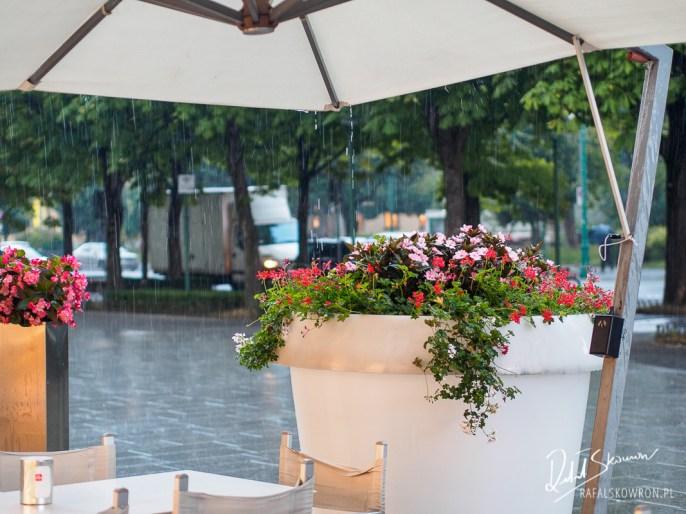 deszczyk w Bergamo