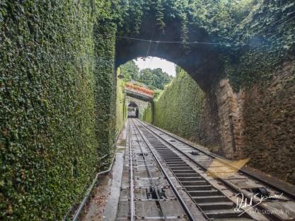 Funicular in Bergamo