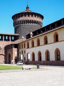 Sforza Castle Milano