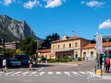 Dworzec kolejowy w Lecco
