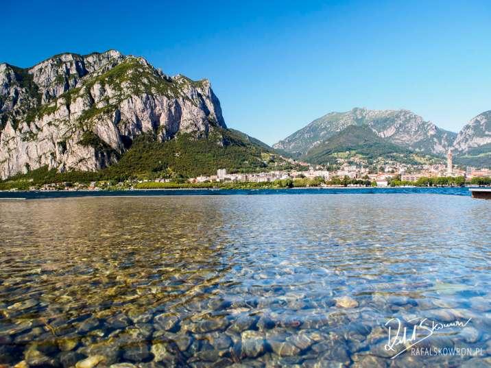 Jezioro Como z Lecco w tle