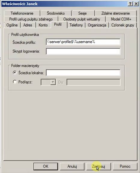 Jak stworzyć profil mobilny - ustawienia profilu mobilnego