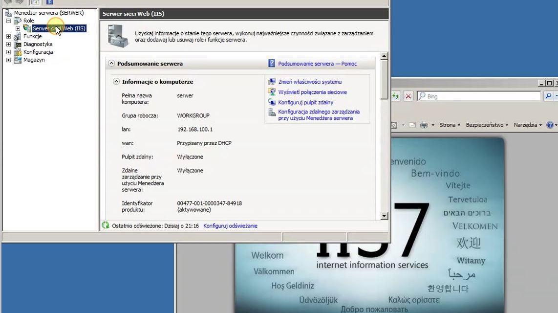 Zróbmy stronę WWW i postawmy serwer FTP na Windows Server 2008R2