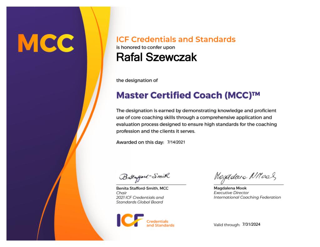 Akredytacja MCC ICF