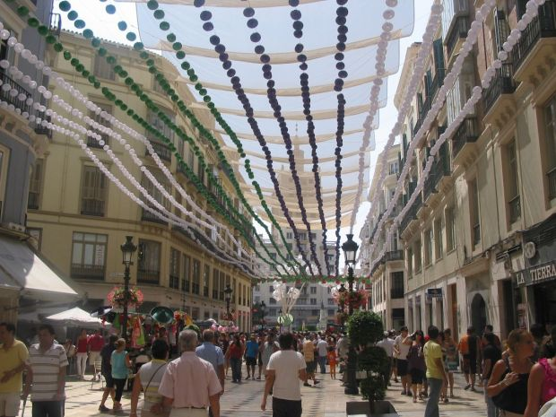 La Feria de dia a Malaga