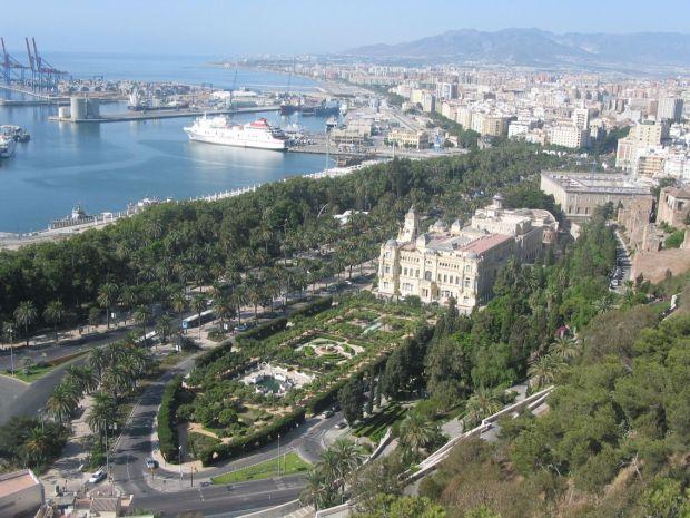 Vivere a Malaga: Vista da Gibralfaro