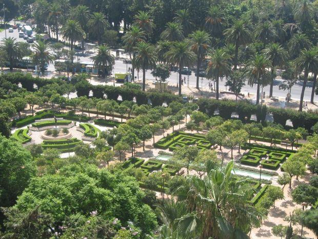 Vivere a Malaga: Il giardino delle rose