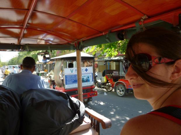 Raf around the world: arrivo a Phnom Pehn