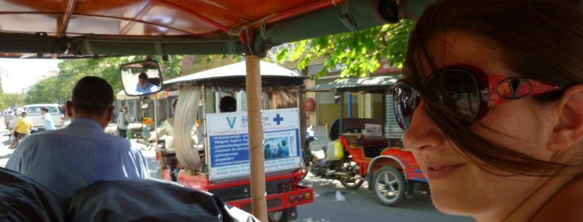 Arrivo a Phnom Pehn