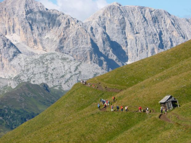 Sentiero Friedrich-August Vacanze in Val Gardena
