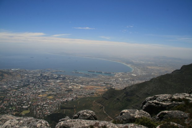 Cape Town dalla Table Mountain