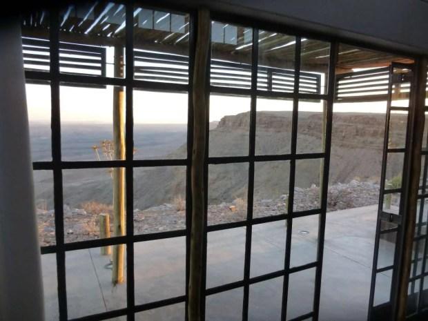 Fish River Lodge - Vista dal letto