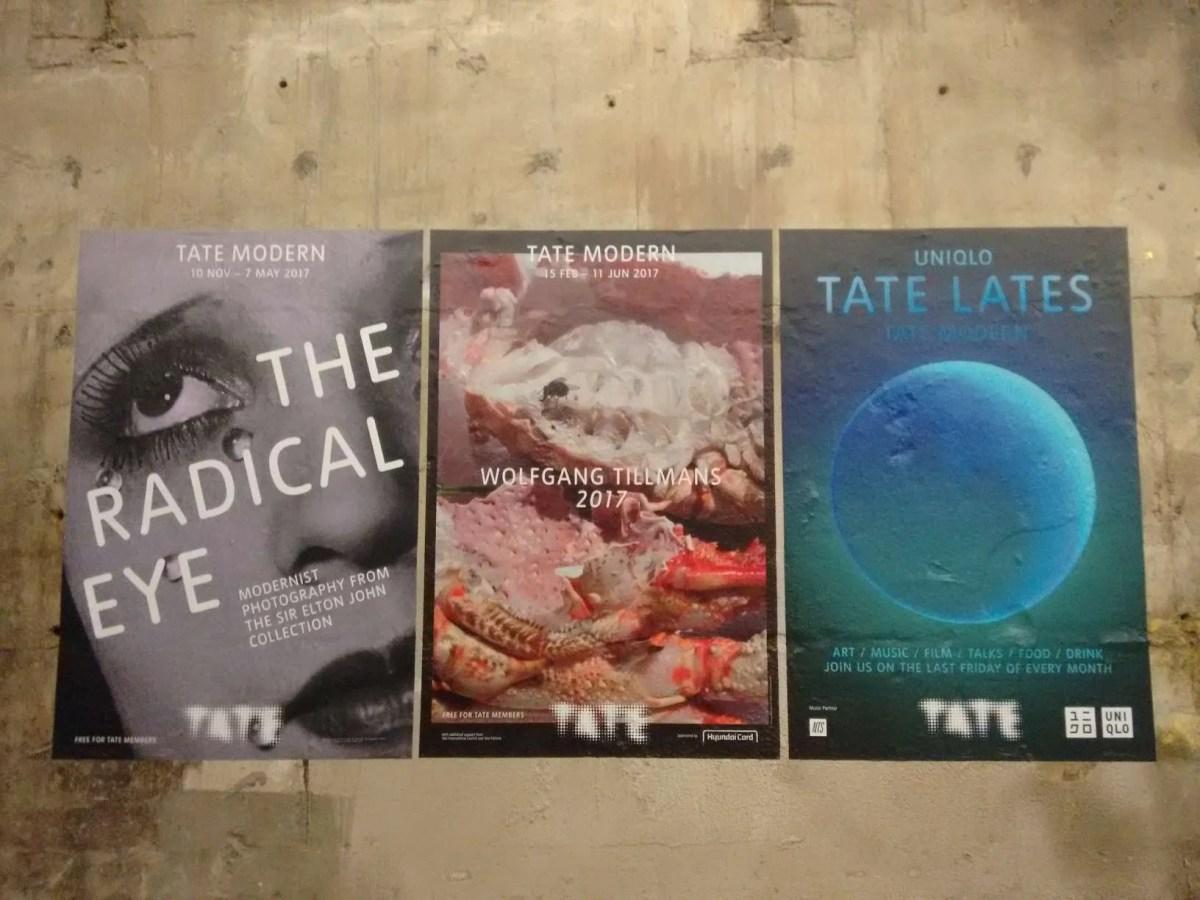 Mostre temporanee alla Tate Modern