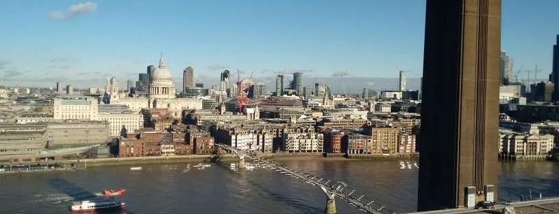 Tate Modern - Vista dalla terrazza