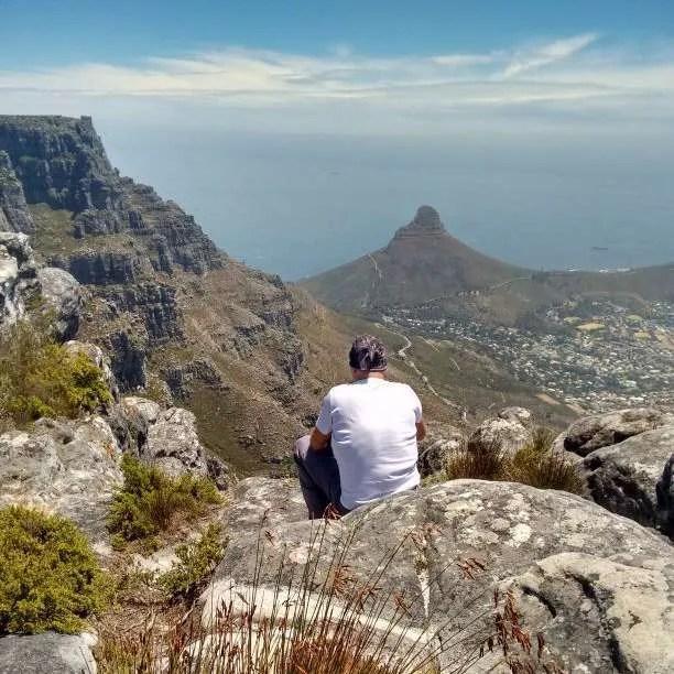 Vista dai sentieri della Table Mountain