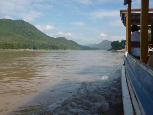 Navigando il Mekong in Laos