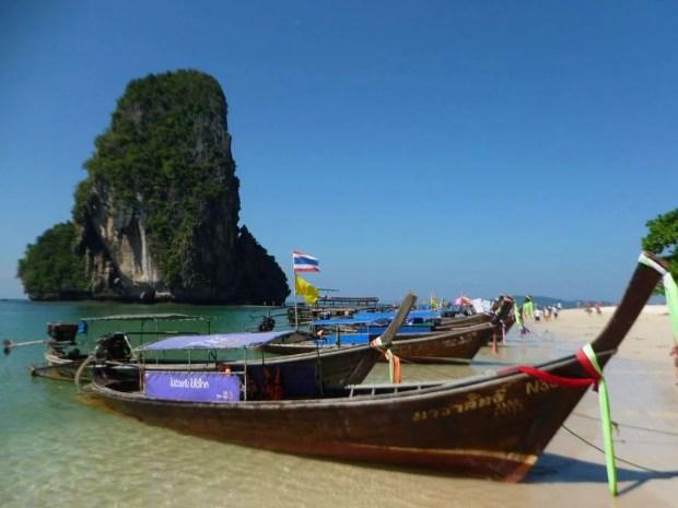 Le spiagge più belle della Thailandia:Phra Nang Beach