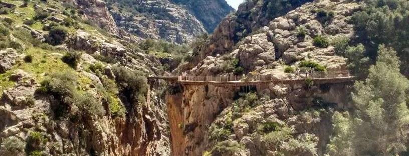 Caminito del Rey - Prima parte del percorso