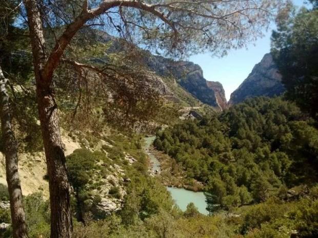 Caminito del Rey - Sentiero di raccordo tra i 2 canyon