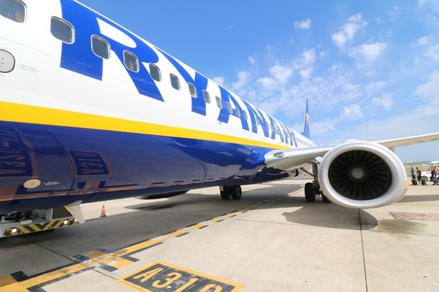 Volo in ritardo: Ryanair