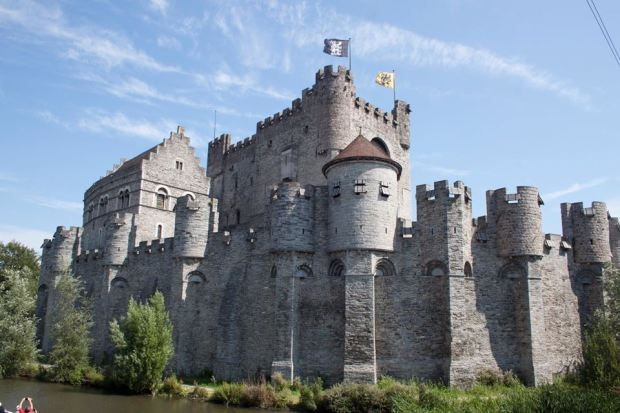 Weekend in Belgio: il castello di Gand