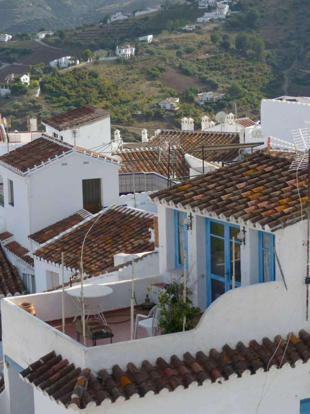 Frigiliana - Dettaglio di una casa tipica