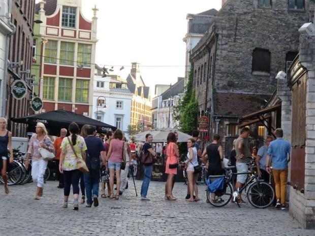 In fila per le frites a Gand