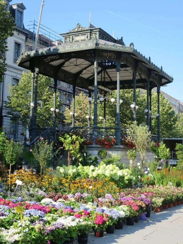 Mercato dei fiori Gand