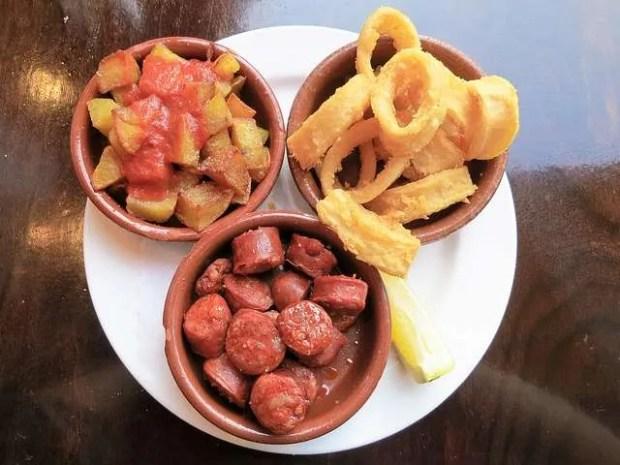 Mix di tapas spagnole
