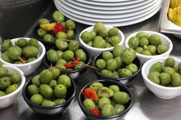 Tapas spagnole: le immancabili olive