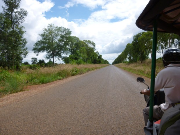 Visitare i templi di Angkor in tuk tuk