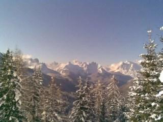 Vista dal Monte Piana