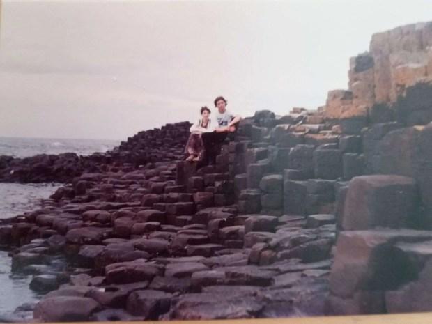 Viaggiare negli anni '90 - Giant's Causeway - 1995