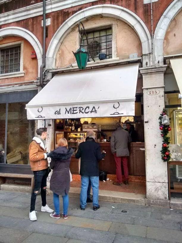 Dove mangiare a Venezia: Al Mercà